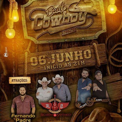 Baile do Cowboy - 06/06/20 - Cândido Mota - SP