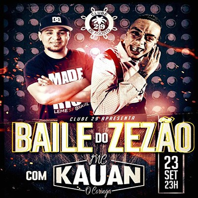 Baile do DJ Zezão com MC Kauan - 23/09/17 - Leme - SP
