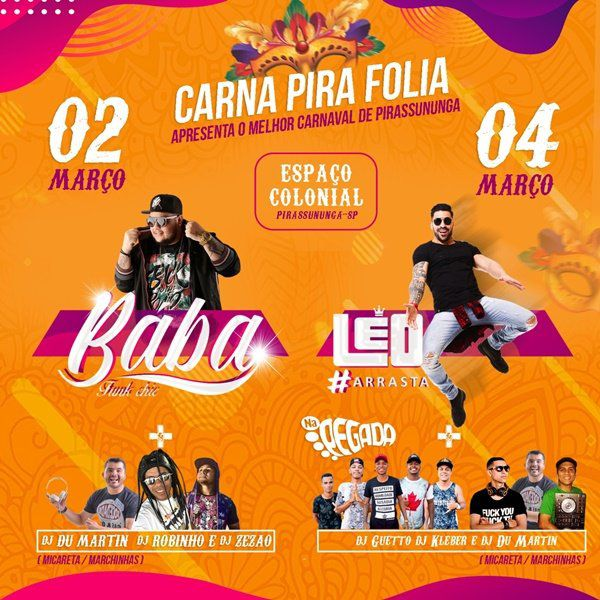 Baile do Guga - 02/03/19 - Pirassununga - SP