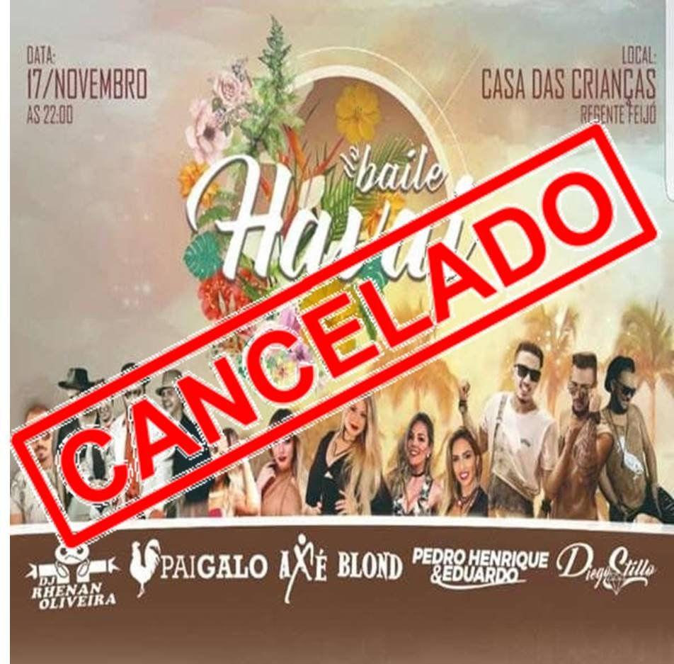 Baile do Havai - 17/11/18 - Regente Feijó - SP