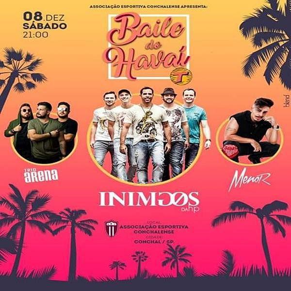 Baile do Havaí Transamérica - 08/12/18 - Conchal - SP