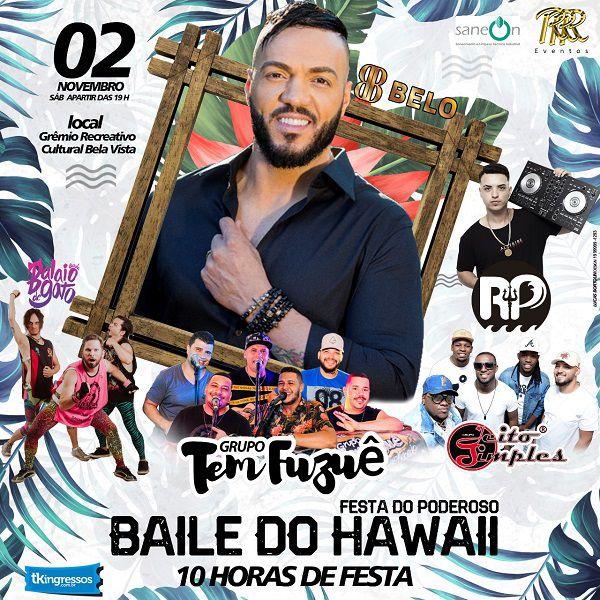 Belo - Baile do Hawaii - 02/11/19 - Rio Claro - SP