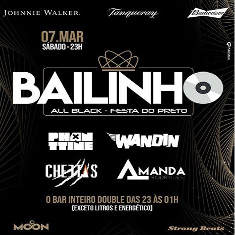 Bailinho - Moon Up - 07/03/20 - Avaré - SP
