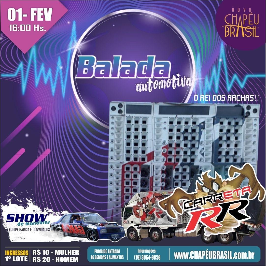 Balada Automotiva - Chapéu Brasil - 01/02/20 - Sumaré - SP