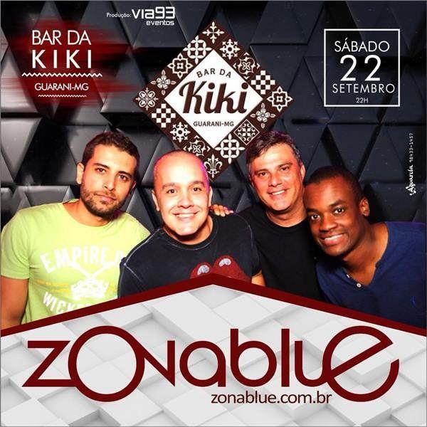Banda Zona Blue - Bar da Kiki - 22/09/18 - Guarani - MG