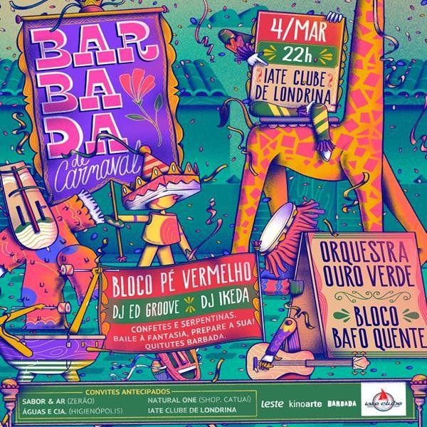 Barbada de Carnaval - 04/03/19 - Londrina - PR
