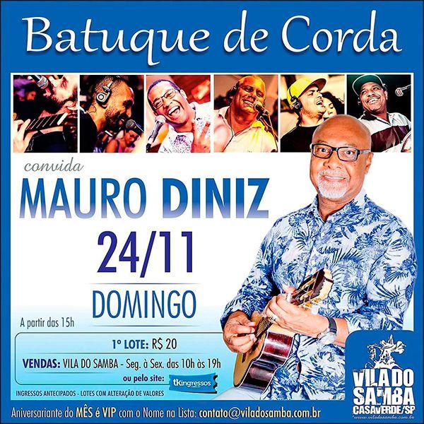 Batuque de Corda - Vila do Samba - 24/11/19 - São Paulo - SP