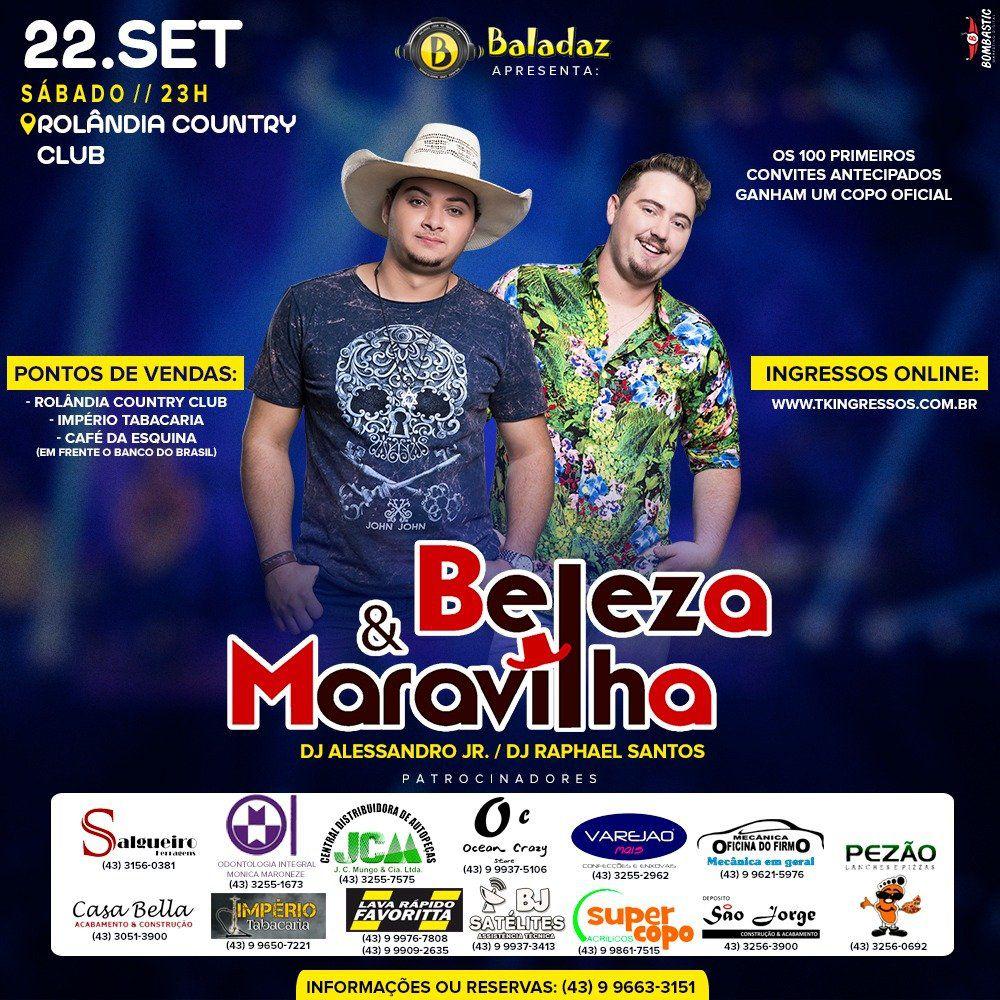 Beleza & Maravilha - 22/09/18 - Rolândia - PR