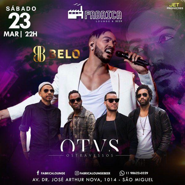 Belo e os Travessos - Fabrica Lounge - 23/03/19 - São Paulo - SP