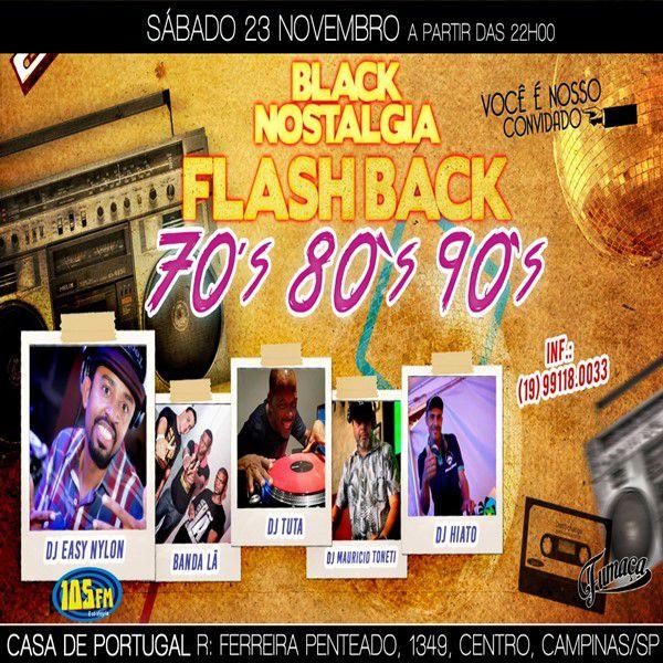 Black Nostalgia - 23/11/19 - Campinas - SP
