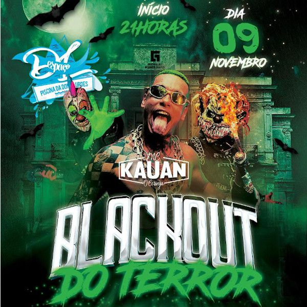 Blackout do Terror - 09/11/19 - Francisco Morato - SP