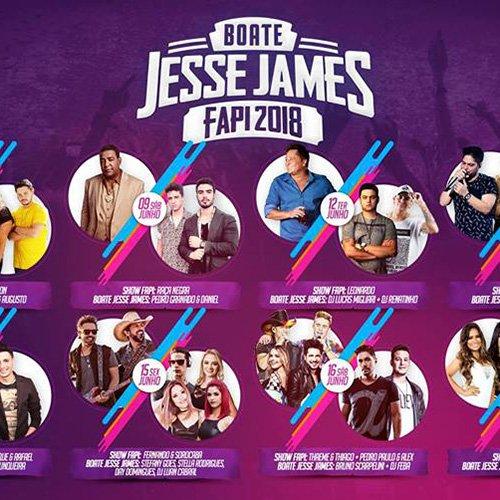 Boate Jesse James - 15/06/18 - Ourinhos - SP