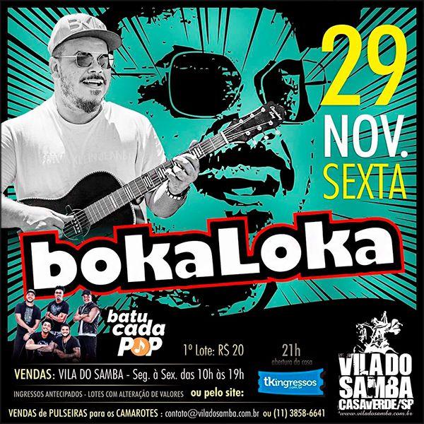 BokaLoka - Vila do Samba - 29/11/19 - São Paulo - SP