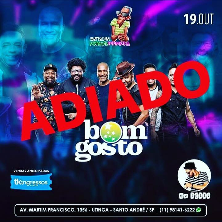Bom Gosto - 19/10/18 - Santo André - SP