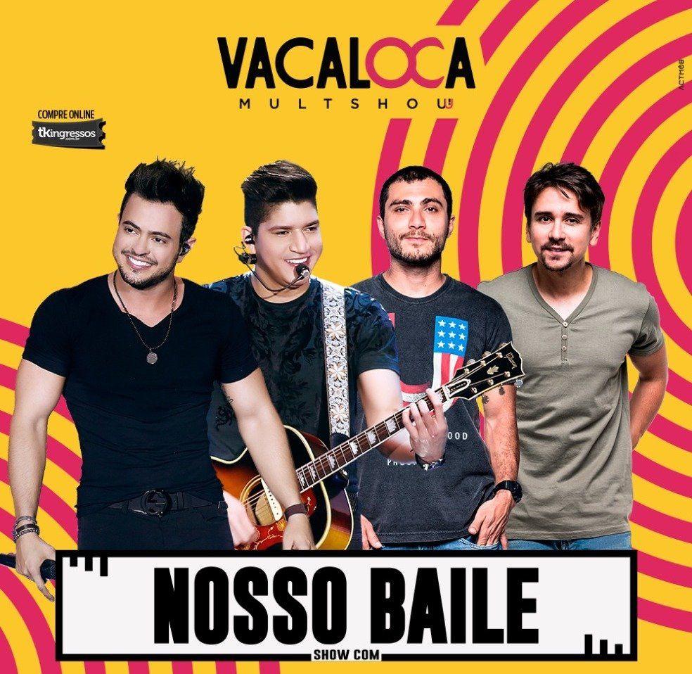 Bruninho & Davi + Henrique & Diego - Vacaloca Multshow- 27/04/18 - Mogi das Cruzes - SP