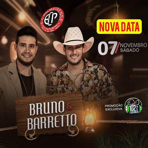 Bruno & Barretto - 07/11/20 - Santa Cruz das Palmeiras - SP