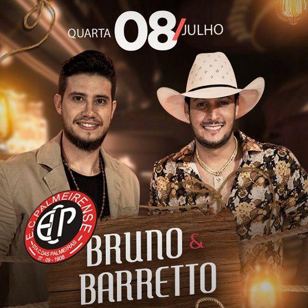 Bruno & Barretto - 08/07/20 - Santa Cruz das Palmeiras - SP