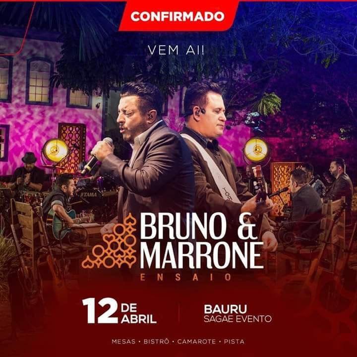 Bruno & Marrone - 12/04/19 - Bauru - SP