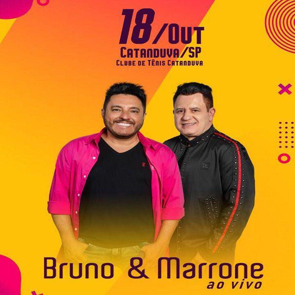 Bruno & Marrone - 18/10/19 - Catanduva - SP