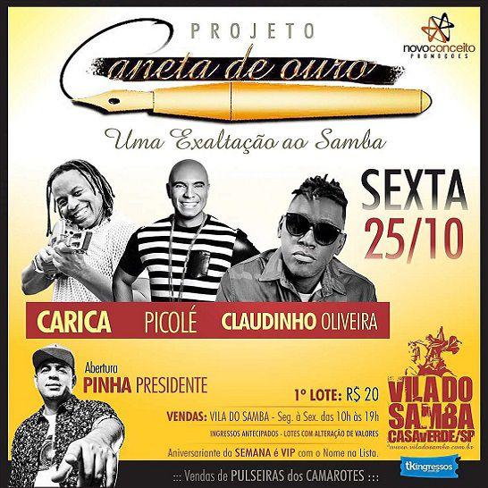 Caneta de Ouro - Vila do Samba - 25/10/19 - São Paulo - SP