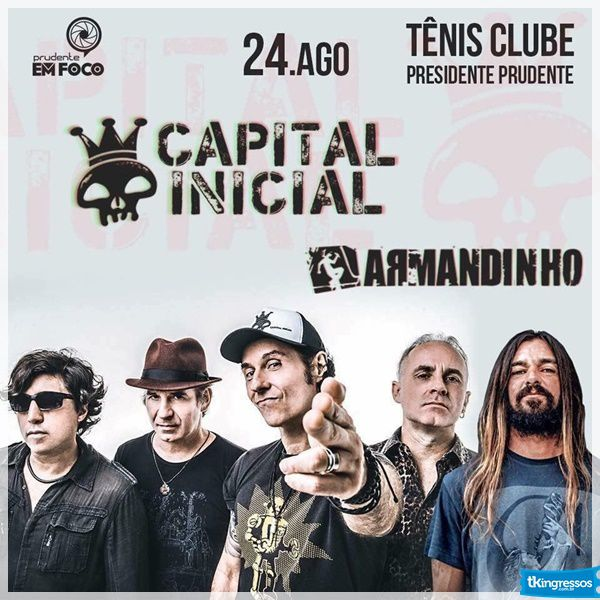 Capital Inicial e Armandinho - 24/08/18 - Presidente Prudente - SP