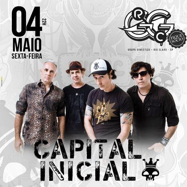 Capital Inicial - Via Brasil - 04/05/18 - Rio Claro - SP