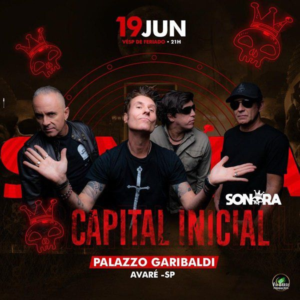 Capital Inicial - Via Brasil - 19/06/19 - Avaré - SP