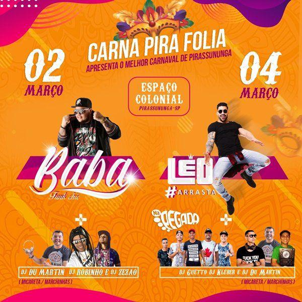 Carna Pira Folia - 02 e 04/03/19 - Pirassununga - SP