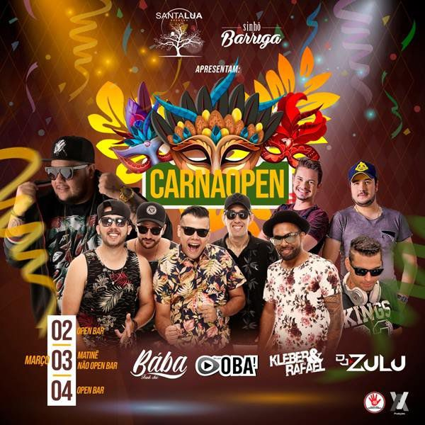 Carnaopen - Segunda - 04/03/19 - Leme - SP
