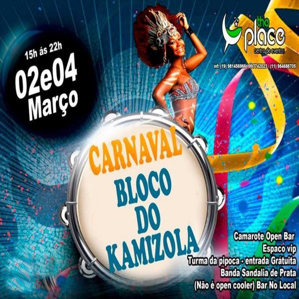 Carnaval Bloco do Kamizola - 02/03/19 - São João da Boa Vista - SP