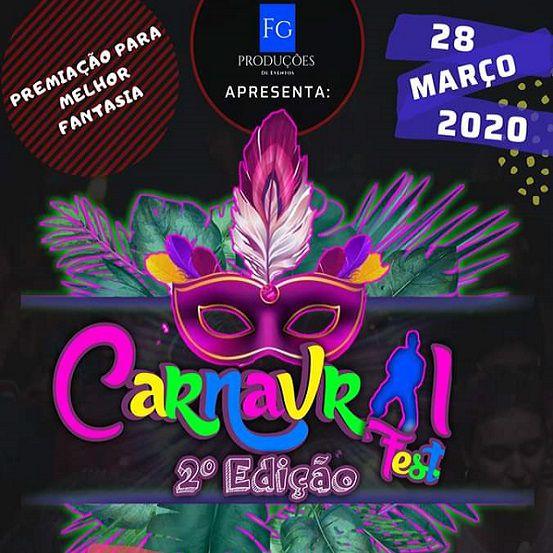 Carnavral Fest 2°Edição - 28/03/20 - Jataizinho - PR