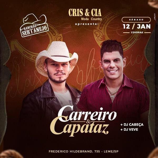 Carreiro & Capataz - Ranchão Sertanejo - 12/01/19 - Leme - SP