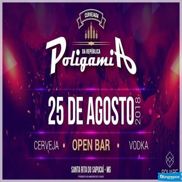 Cervejada da Poligamia 3ª Edição - 25/08/18 - Santa Rita do Sapucaí - MG