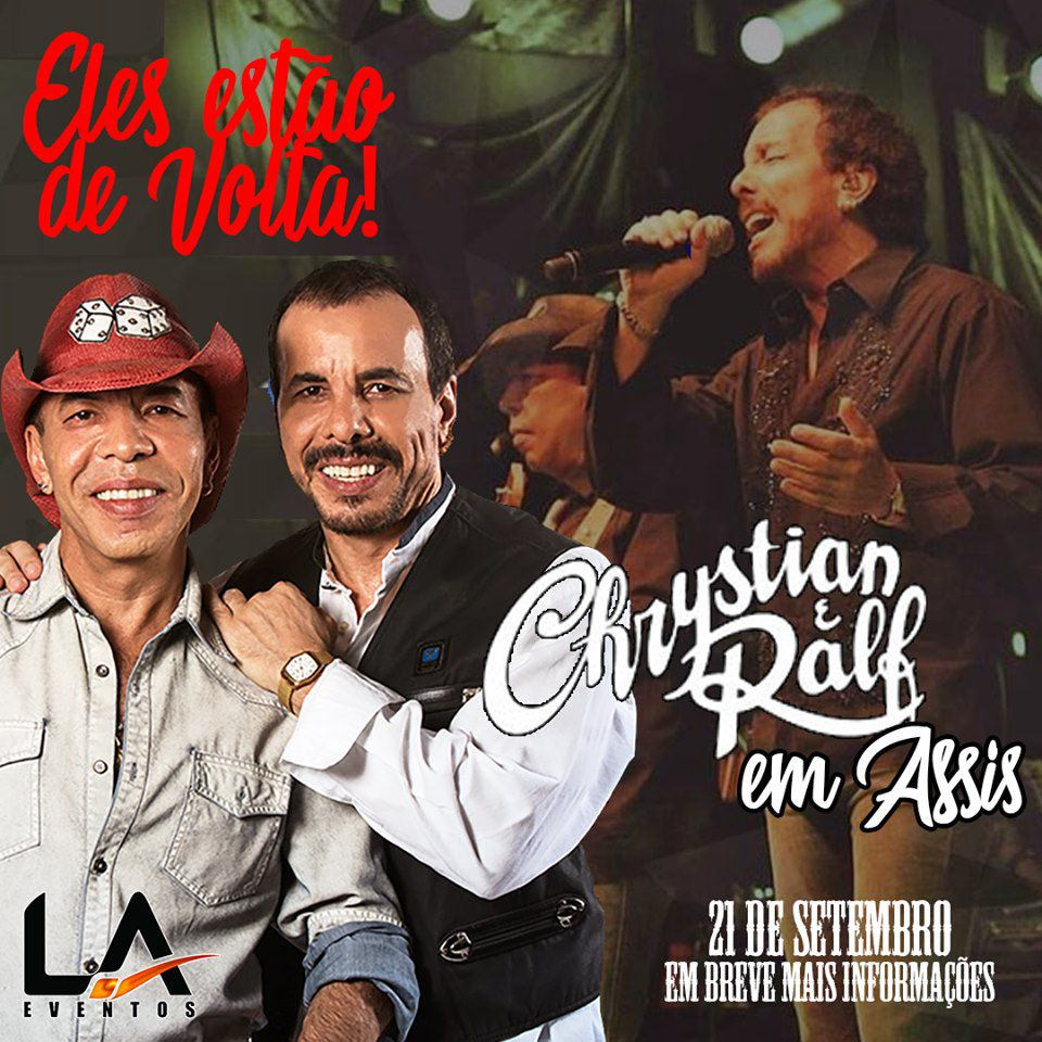 Chrystian & Ralf - 21/09/19 - Assis - SP