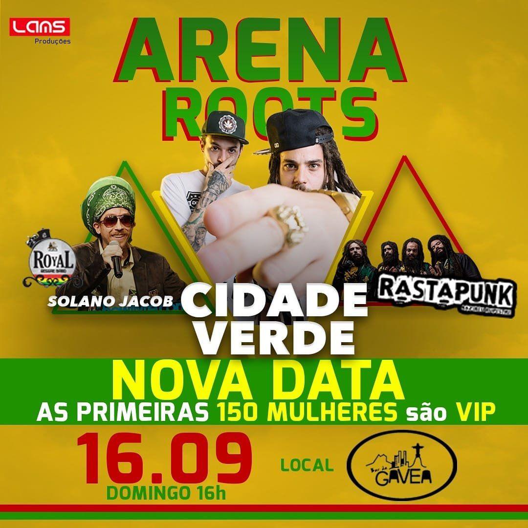 Cidade Verde e Nazireu Rupestre - 16/09/18 - Suzano - SP