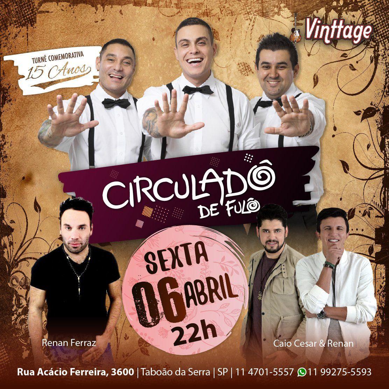 Circuladô de Fulô - 06/04/18 - Taboão da Serra - SP