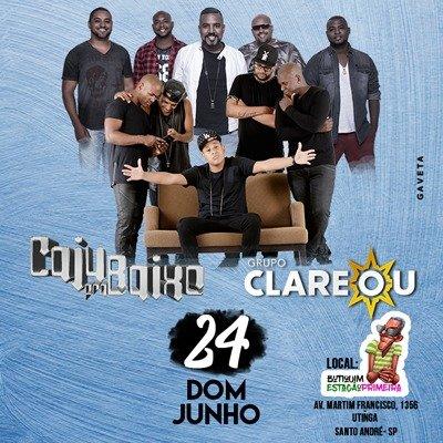 Clareou - 24/06/18 - Santo André - SP