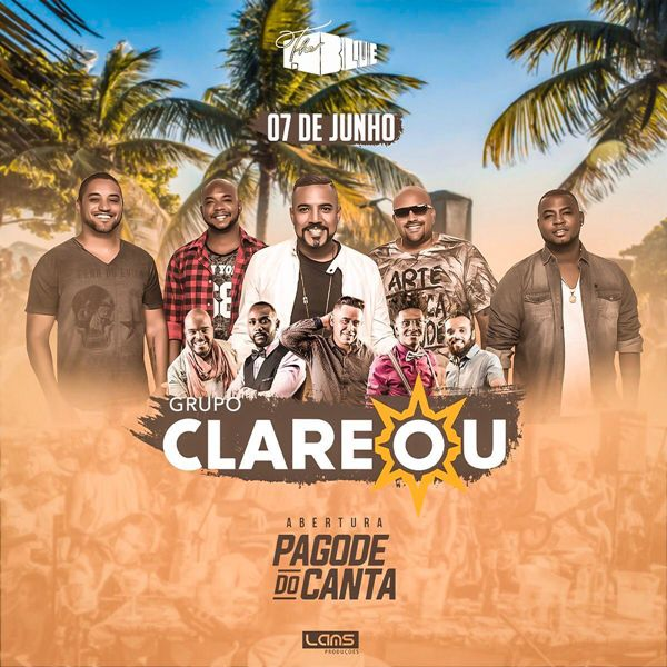 Clareou - The Blue - 07/06/19 - Mogi das Cruzes - SP