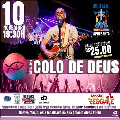 Colo de Deus - 10/11/17 - Bauru - SP