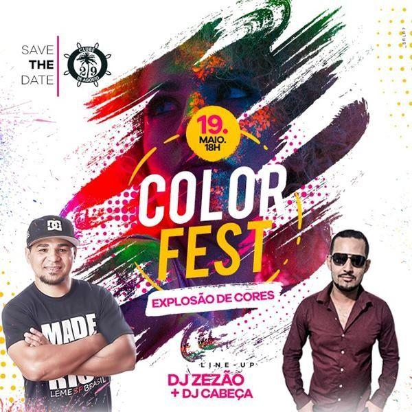 Color Fest - 19/05/18 - Leme - SP