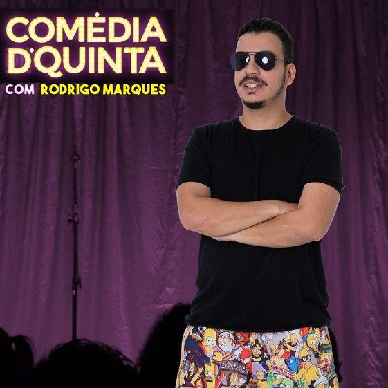 Comédia de Quinta com Rodrigo Marques - 07/05/20 - Londrina - PR
