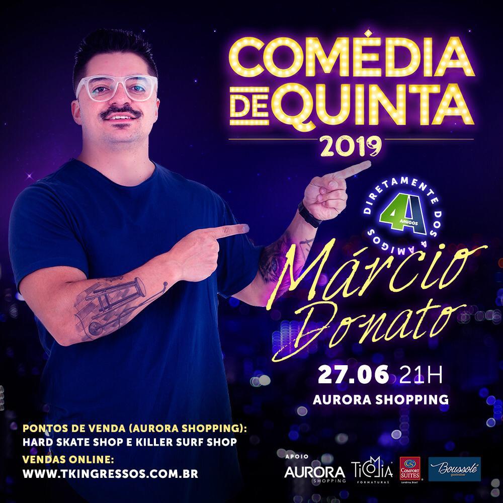 Comédia de Quinta - 27/06/19 - Londrina - PR