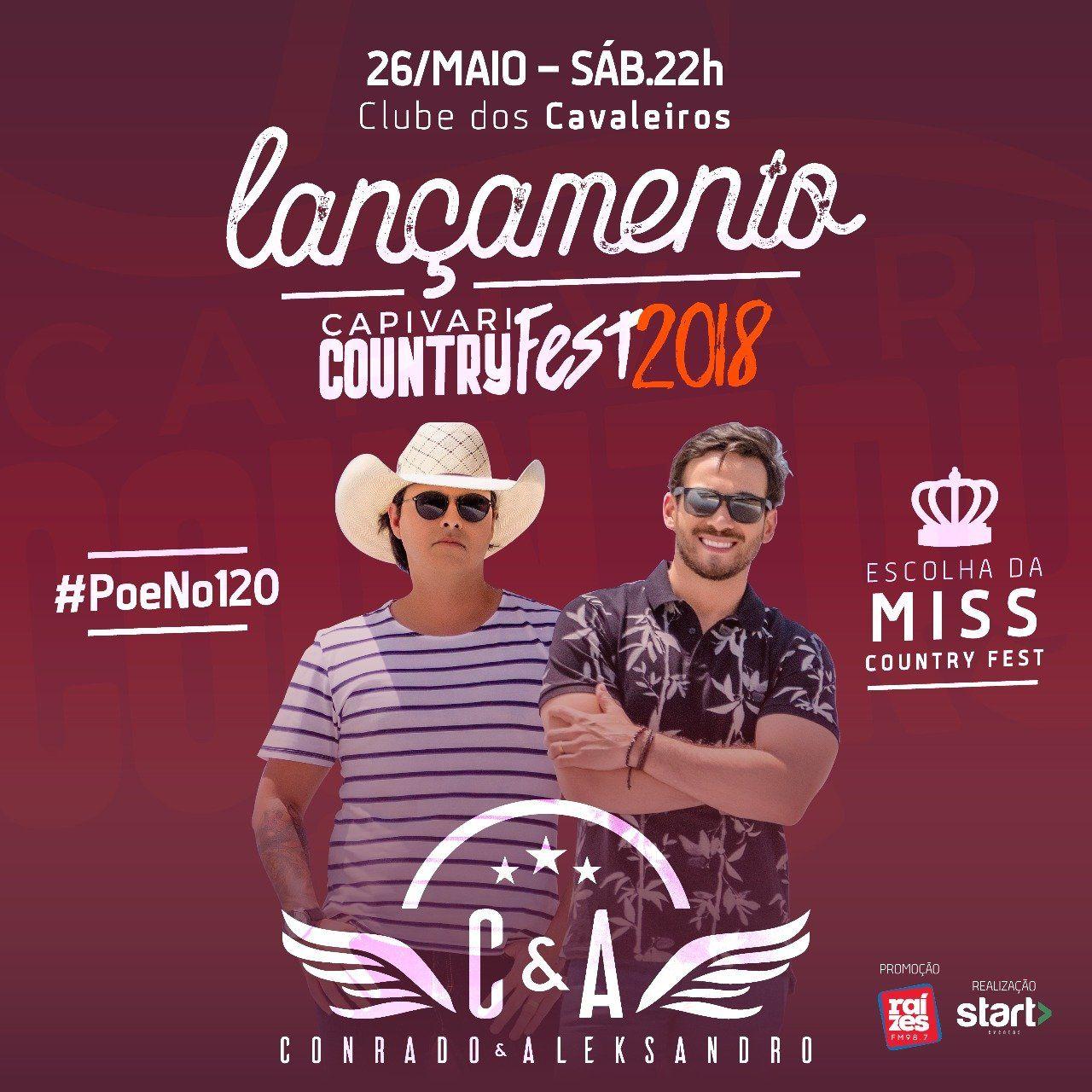 Conrado & Aleksandro - 26/05/18 - Capivari - SP