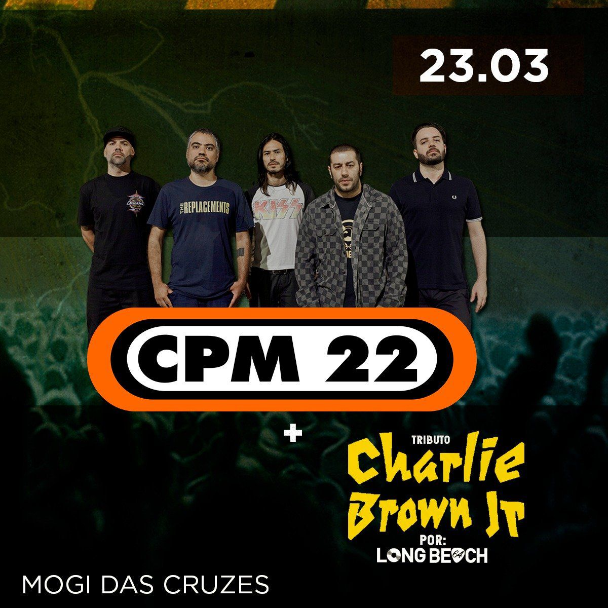 CPM22 E Tributo Charlie Brown - 23/03/19 - Mogi das Cruzes - SP