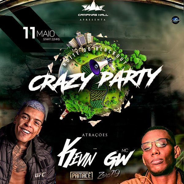 Crazy Party - 11/05/18 - Campinas - SP