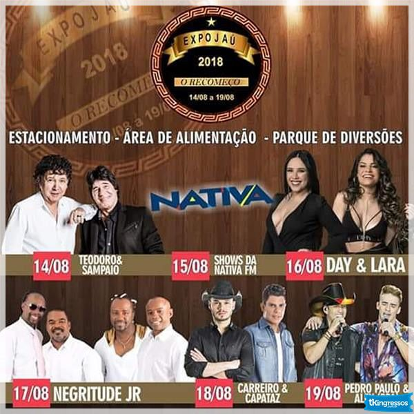 Day & Lara - Expo Jaú 2018 - 16/08/18 - Jaú - SP