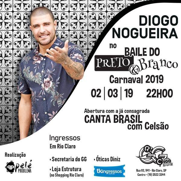 Diogo Nogueira - 02/03/19 - Rio Claro - SP