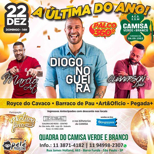 Diogo Nogueira - 22/12/19 - São Paulo - SP