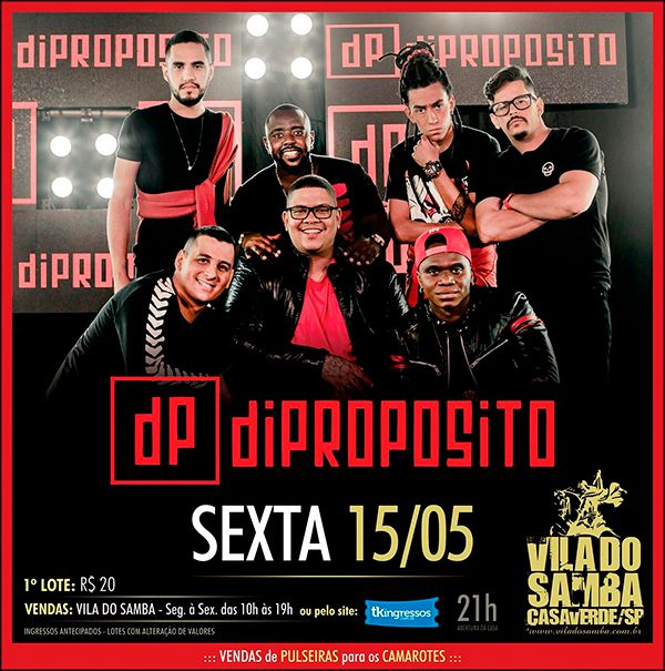 Dipropósito - Vila do Samba - 15/05/20 - São Paulo - SP