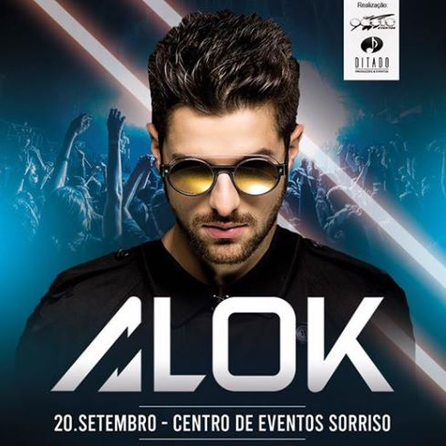 DJ Alok - Oásis Club - 20/09/19 - Sorriso - MT